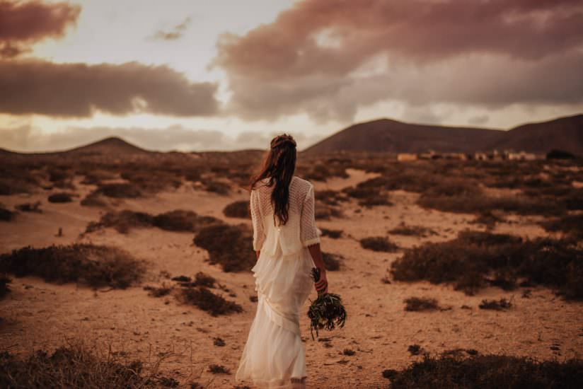 wedding photo session spain canary islands elopement