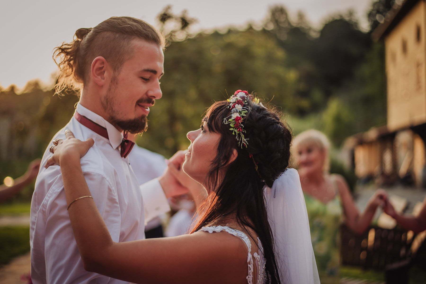wesele we włoszech - pierwszy taniec pary młodej