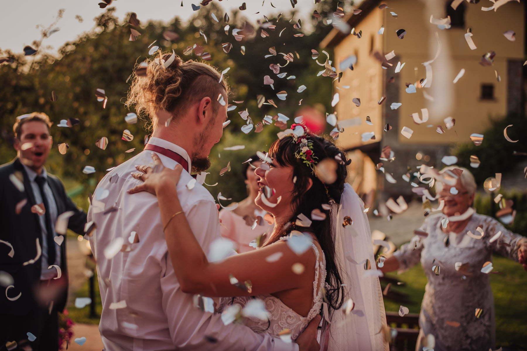 first dance on Italian wedding