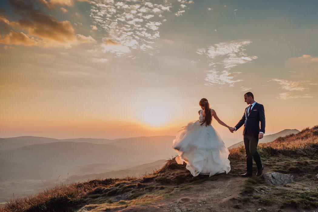 fotografia ślubna bieszczady