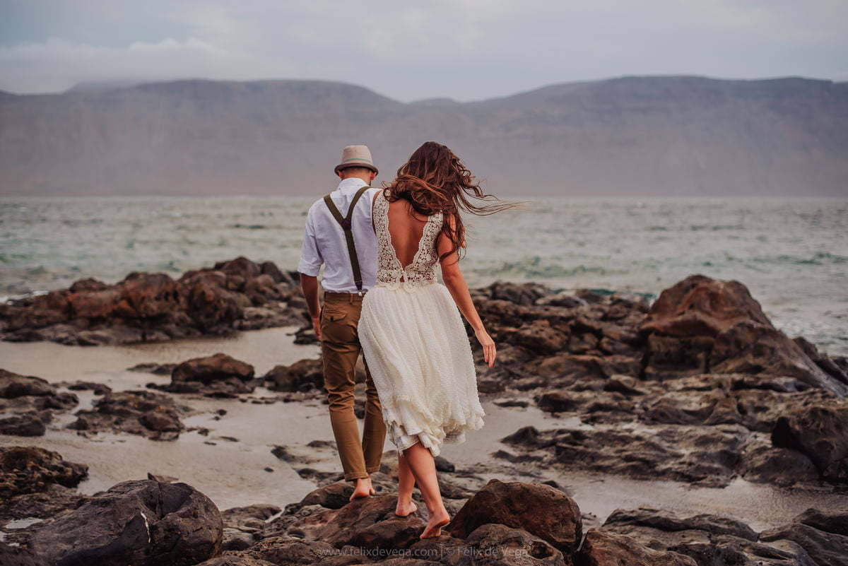 Wedding photo session Spain Canary Islands