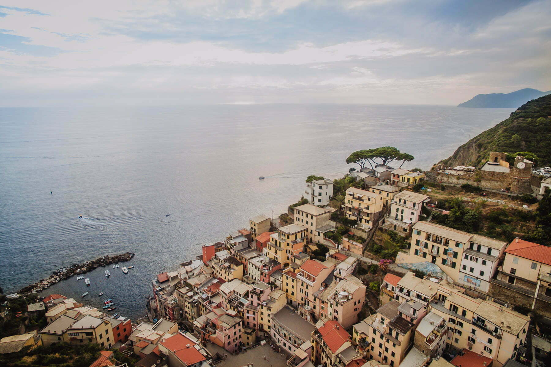 włoskie wybrzeże Cinque Terre