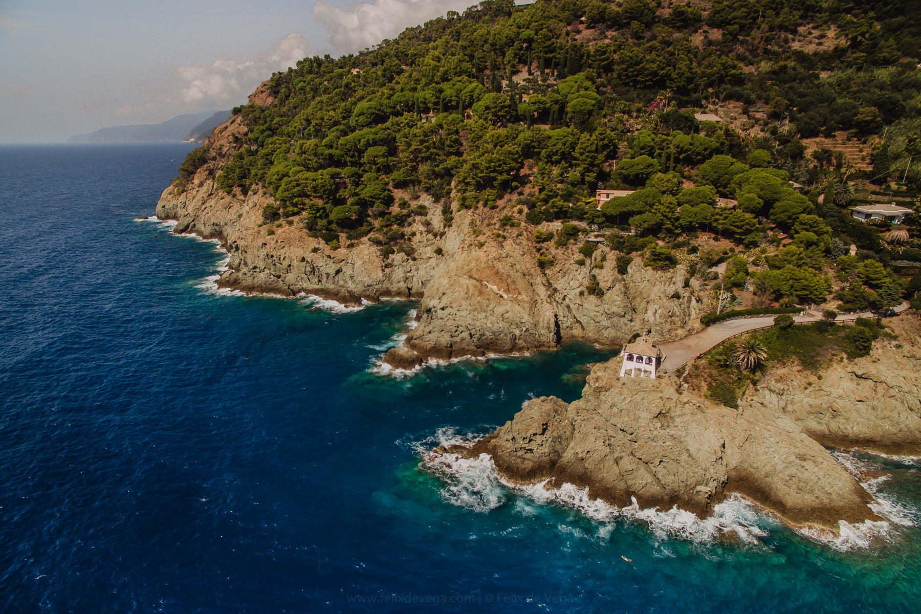 kaplica ślubna na wybrzeżu Cinque Terre